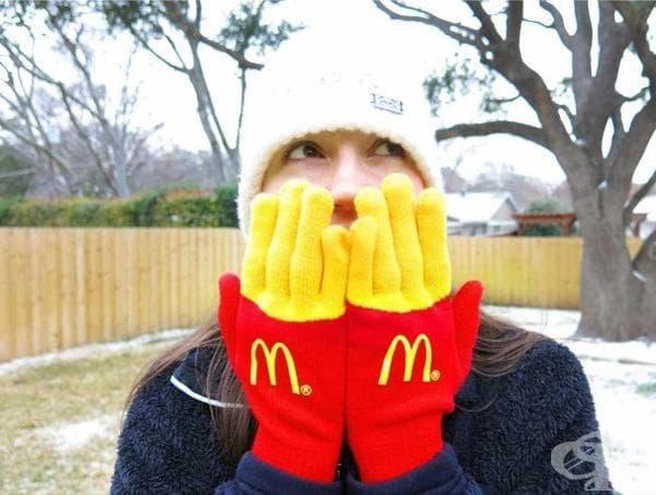 """Зимни ръкавици на """"Макдоналдс"""""""