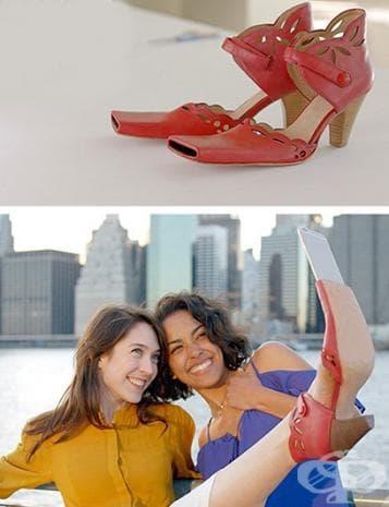 Обувки за селфи
