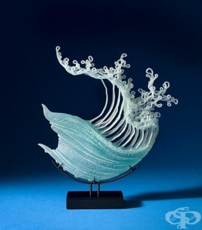 Вижте невероятните стъклени скулптури на К.Уилям Лекуие