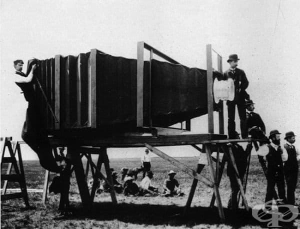 Първият телеобектив в света, 1900г.
