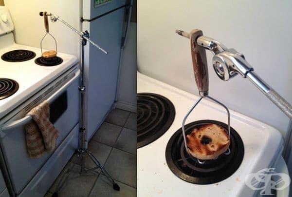 Когато тостерът ви е повреден.