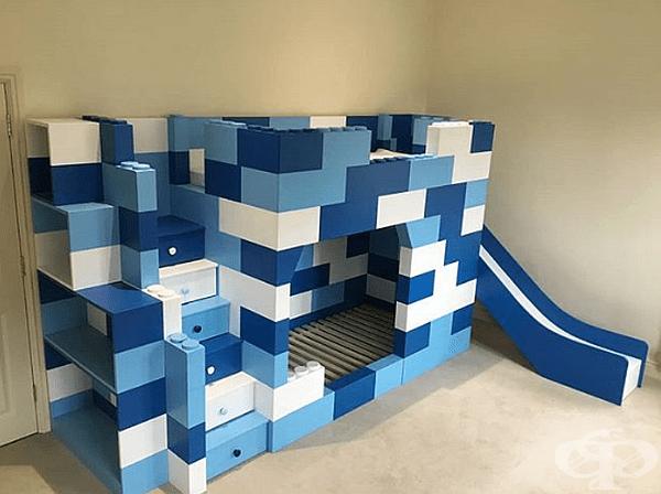 Конструкцията на Lego никога не е била толкова готина.