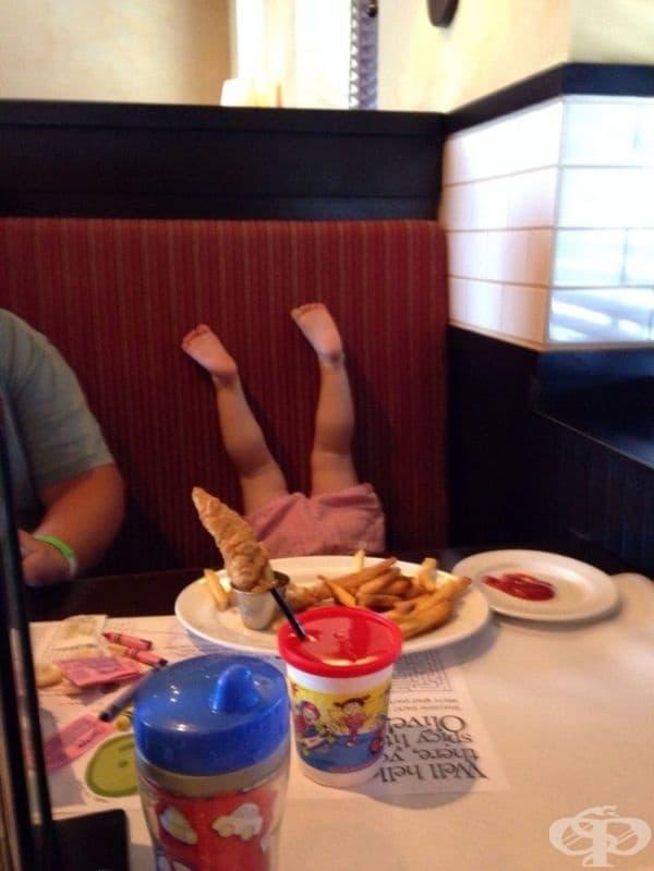 """""""Изведох дъщеря ми на хубава вечеря..."""""""