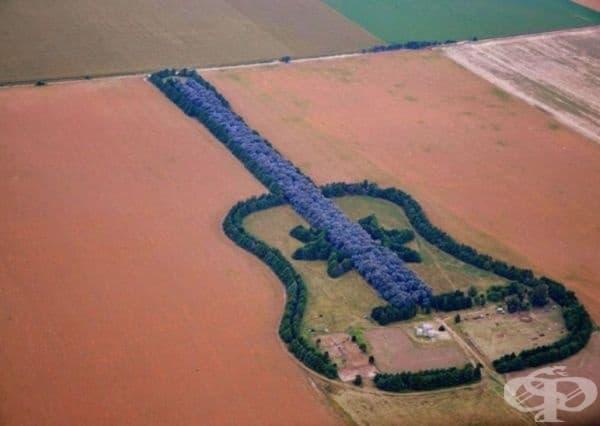 Гора във формата на китара.
