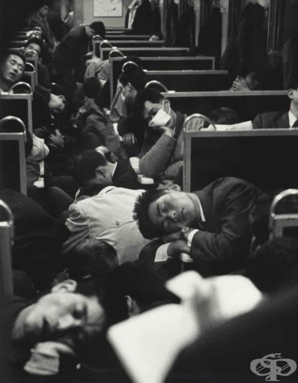 Сутрешен влак в понеделник, Япония, 1964.