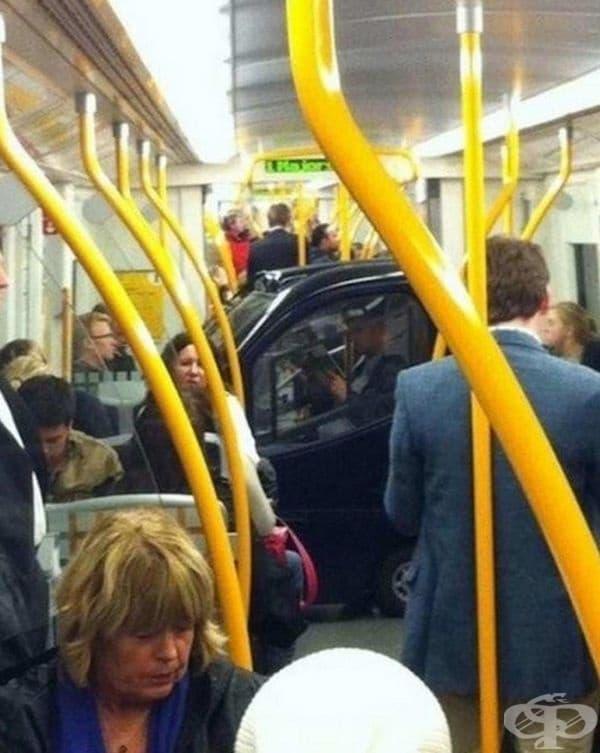 Когато задръстванията са големи, защо да не използвате метрото? Дори да сте с автомобила си.