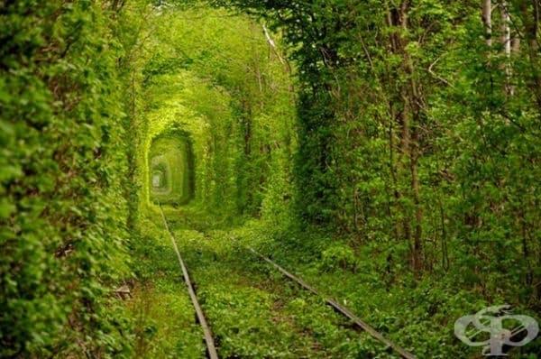 Тунелът на любовта, Украйна.