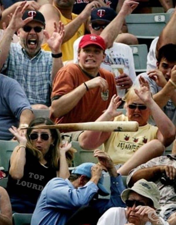 А други биха се блъскали за известна бейзболна бухалка.