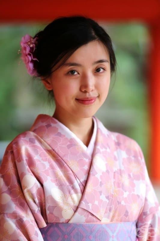 Момиче от Япония.