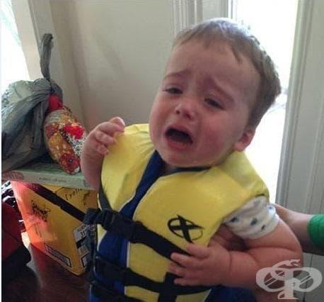 """""""Не иска да е в безопасност във водата"""""""