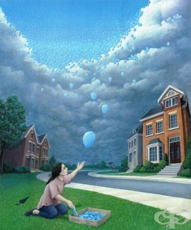 22 оптични илюзии, вдъхновени от осъзнатите сънища