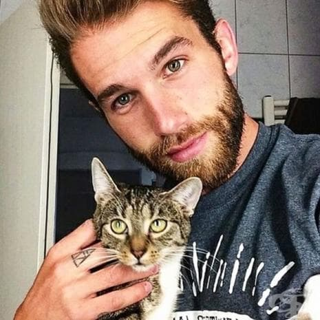 Мъже с котки е най-новата мода в Инстаграм