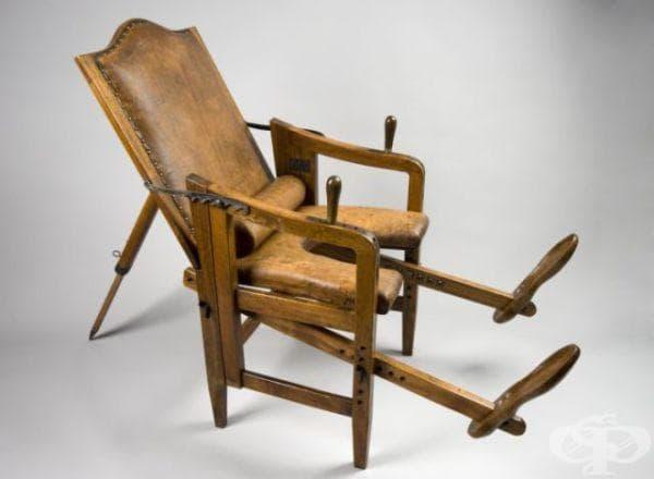Антични столове за раждане, ползвани до 19-ти век