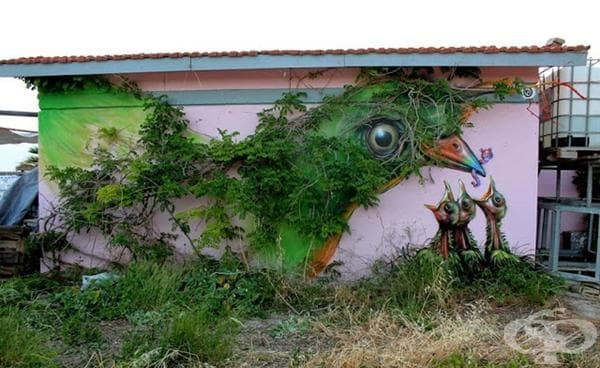Птица, Атина, Гърция