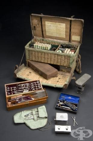 Военно-полеви хирургически комплект, ползван във Великобритания след  1905 година