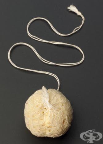 """Тази контрацептивна гъба  е дарение от фондация """"Marie Stopes Memorial""""."""