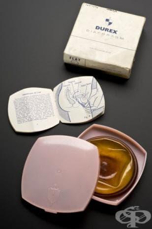Цервикални диафрагми, ползвани през 1950-те години
