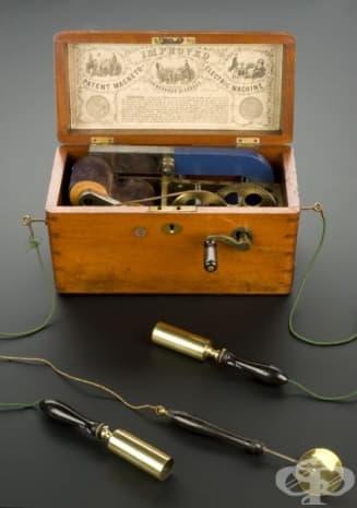 Апарат за електротерапия от 1862 година