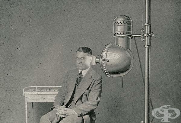 Волтовата лампа се използвала и за лечение на ушни инфекции.