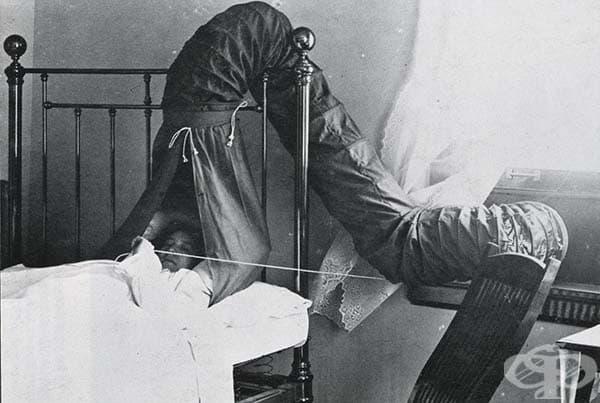 Искате да спите на чист въздух? Мисията била възможна с този уред, приличащ на странна тента.