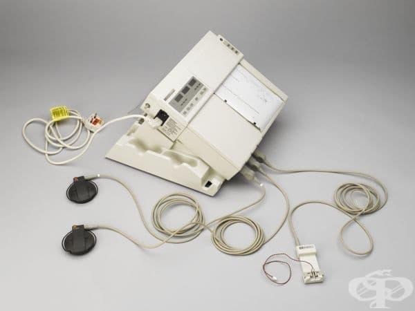 Фетален монитор, ползван в края на 20 век