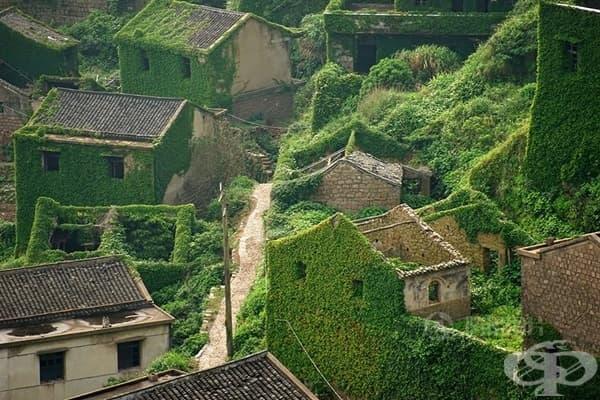 Изоставеното рибарско селище в Шенгси, Китай