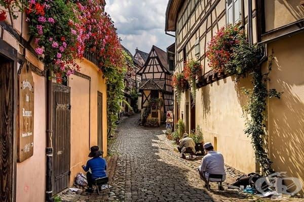 Eguisheim, Франция