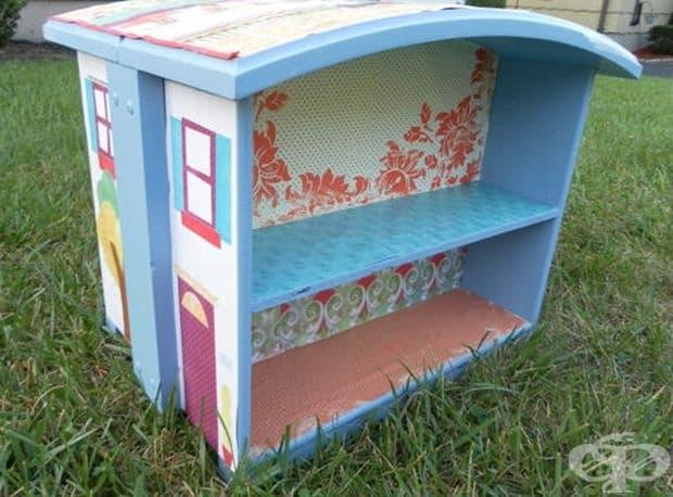 Саморъчно направена къща за кукли