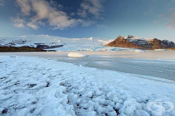Ватнайокул, Исландия (Северната стена)