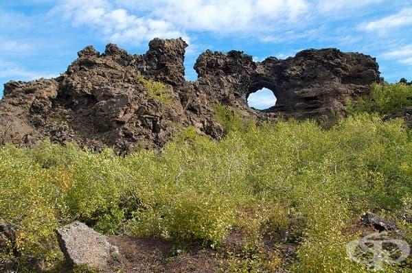 Димумборгир, Исландия (лагерът Уайдинг)