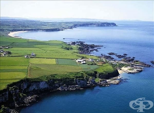 Пристанището Балинтой, Северна Ирландия