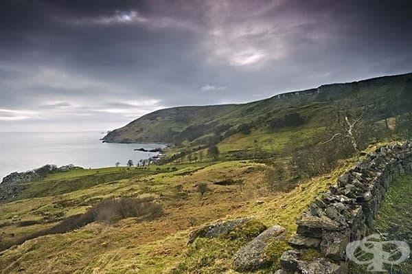Заливът Мърлоу, Северна Ирландия (Железните острови)