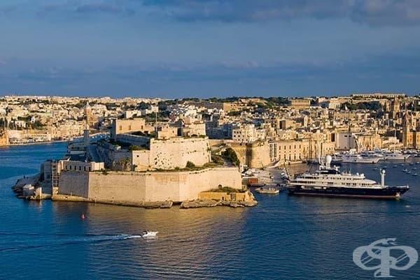 Пристанището Сейнт Анджело, Малта (подземията на Червената крепост)