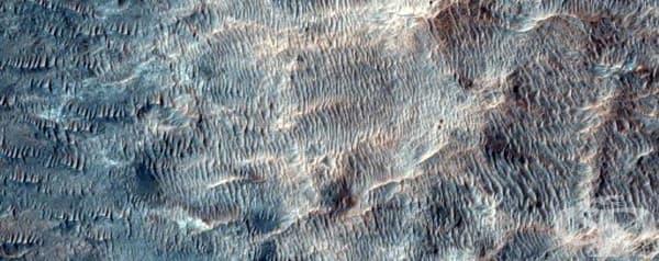 Възможен район за приземяване на мисията Марс 2020.