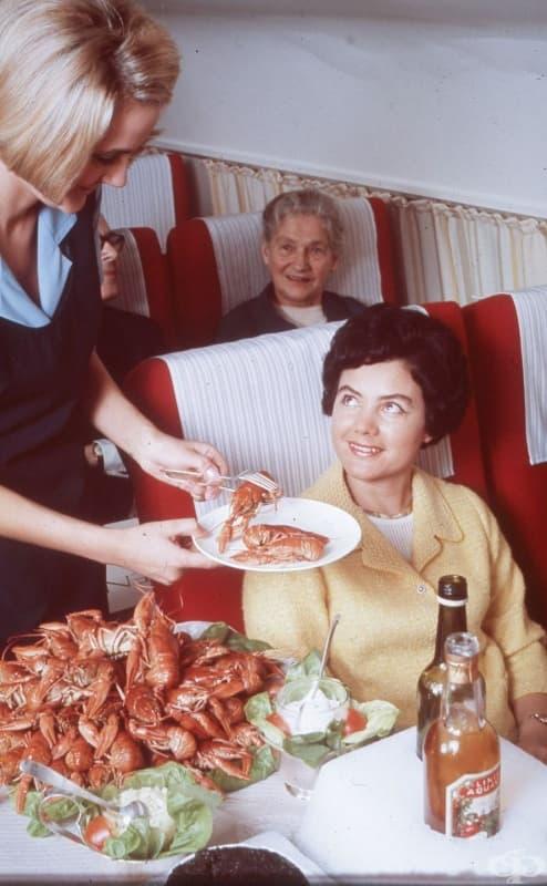 Голямото похапване по време на полет - Скандинавските Авиолинии, 1950-1980 година