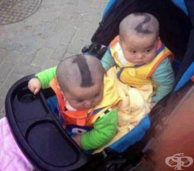 Най-добрият начин да различаваш близнаците!