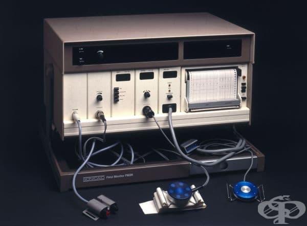 """Феталният монитор е създаден от компания """"Sonicaid""""."""