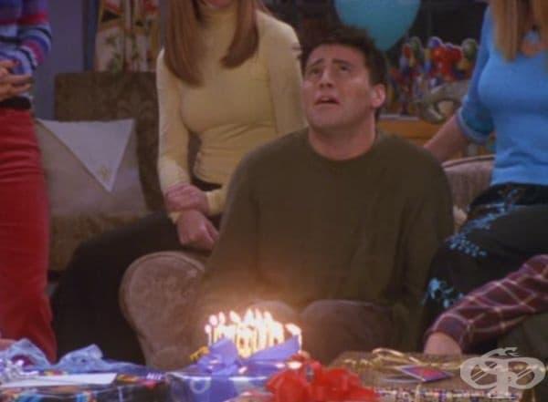 Всеки рожден ден е истински смях.