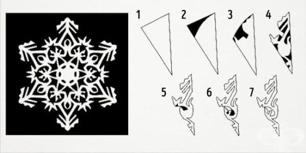 20 фантастични дизайна на снежинки, които може да направите с вашите деца