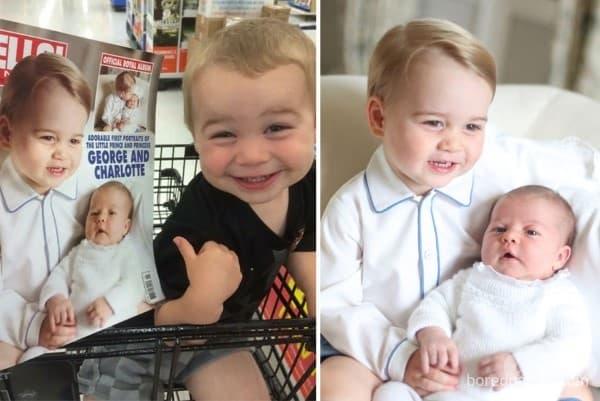 Бебе # принц Джордж