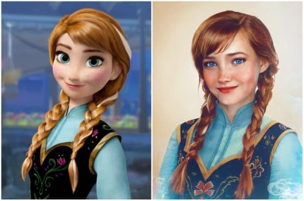 Анна, Леденото кралство