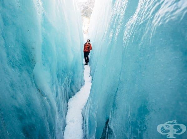 Ледник Франц Йозеф, Нова Зеландия.