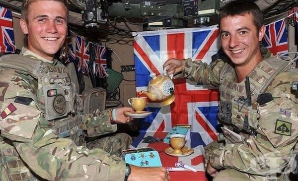 Винаги има време за чай.