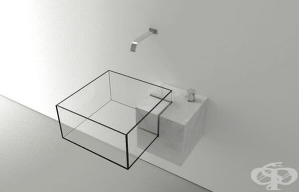 Дизайн на мивка от архитект Виктор Василиев.
