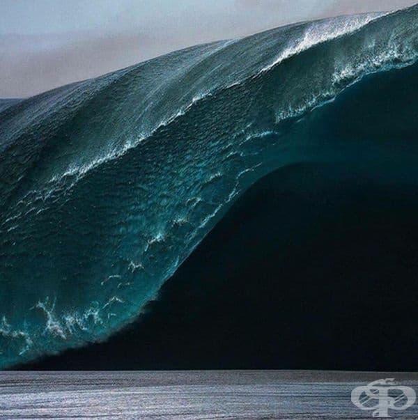 Почти 9-метрова вълна.