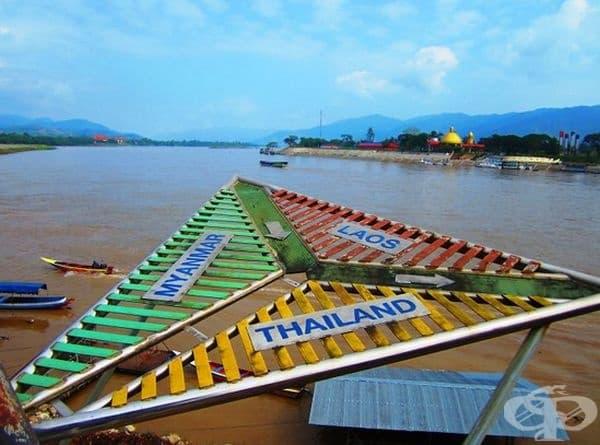Мианмар, Лаос и Тайланд - пресечна точка.