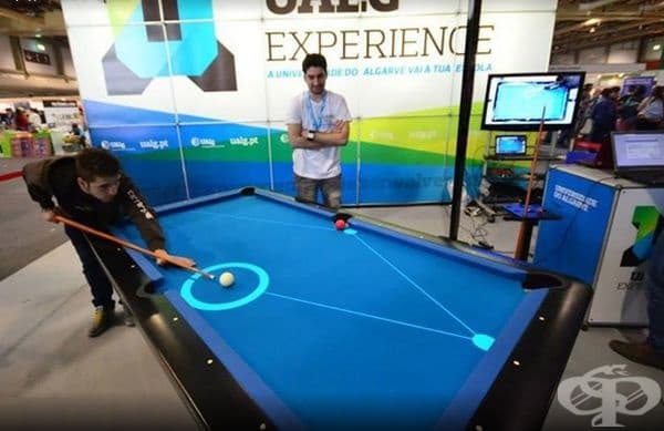 Няма повече загуби по време на билярд. Pool Live AR създаде инструмент за разширена реалност, предназначен да помогне на играчите на билярд да предскажат хода на топката, с която ще играят.