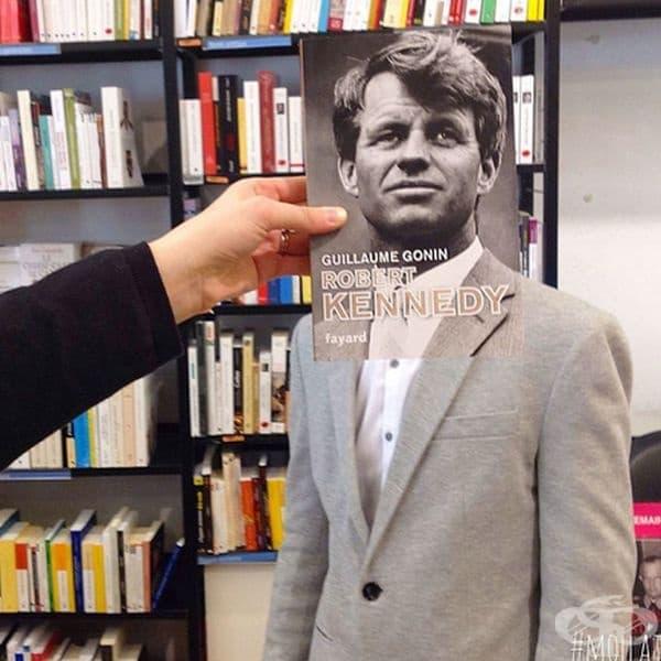 Ето какво се случва, когато служителите на книжарници се отегчат