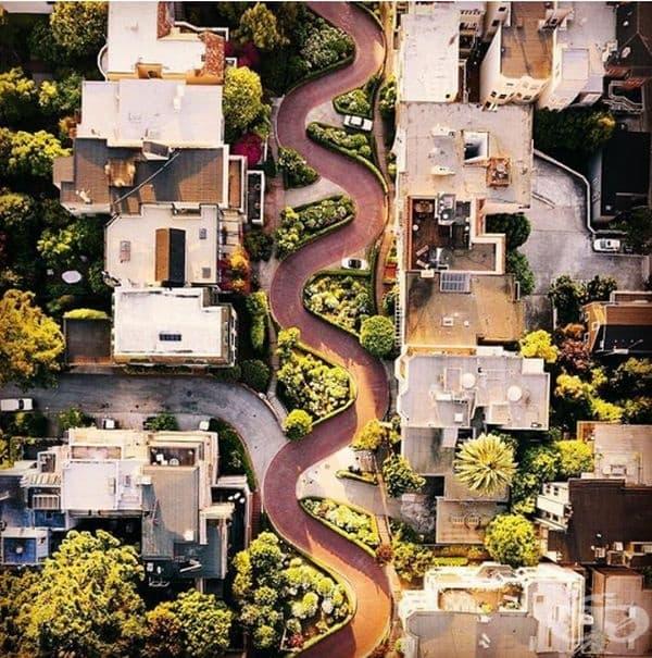 """Улица """"Ломбард"""", Сан Франциско, САЩ."""