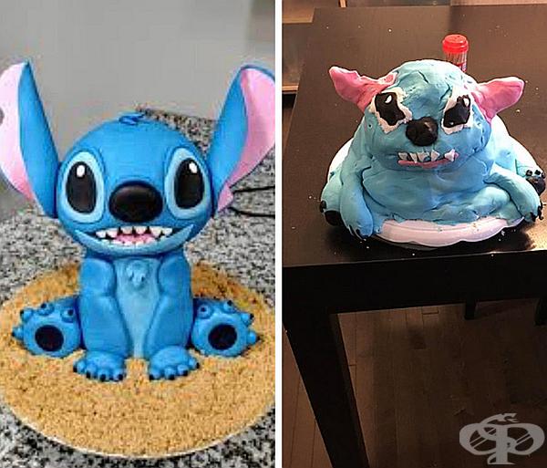 Животът е труден, дори и този на Stitch.
